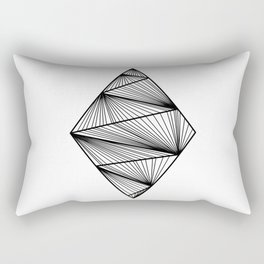 Design Losange (BlanckandWhite) Rectangular Pillow