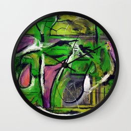 Passion (oil on canvas) Wall Clock