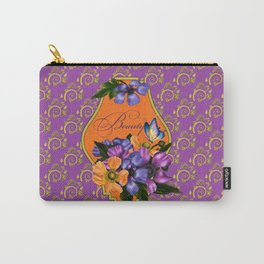 Paisley Anemones  Carry-All Pouch