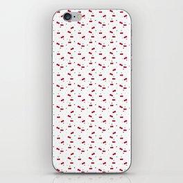 Cherries Love Pattern iPhone Skin