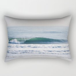 Blue Barrel Rectangular Pillow