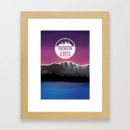 Snowdon [Three Peaks Series] Framed Art Print