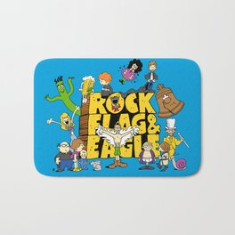 Rock, Flag & Eagle Bath Mat