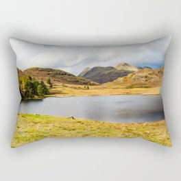 Blea Tarn in the English Lake District Rectangular Pillow