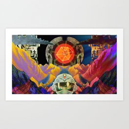 Quantum Physics  Art Print