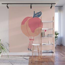 sexy peach Wall Mural