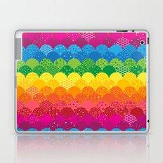 Waves of Rainbows Laptop & iPad Skin