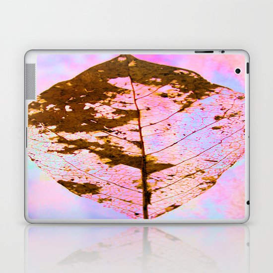 Leaf Skeleton Laptop & iPad Skin
