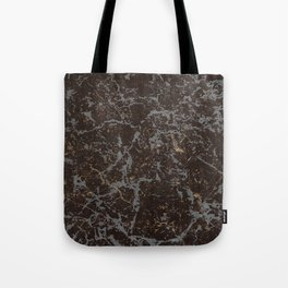 Crystallized gold stone texture Tote Bag