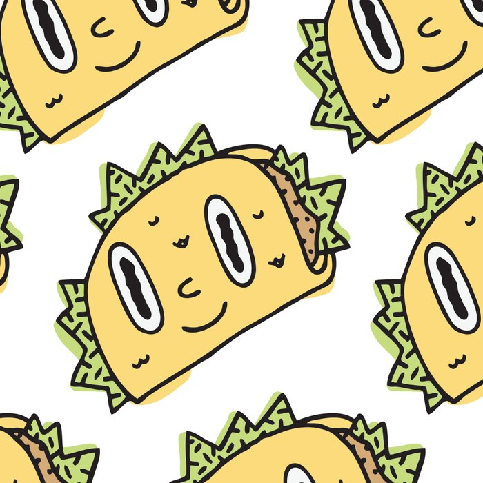 Taco Buddy Leggings