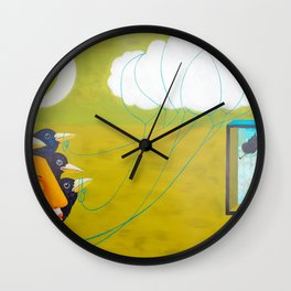 Soul window Wall Clock