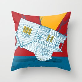 UPSIDEHOUSE Throw Pillow