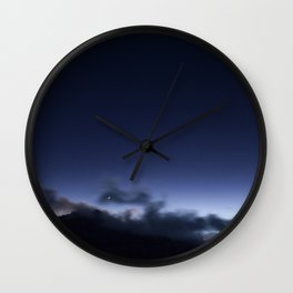Lonely horse Wall Clock