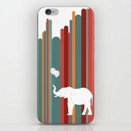 Elephants Play iPhone Skin