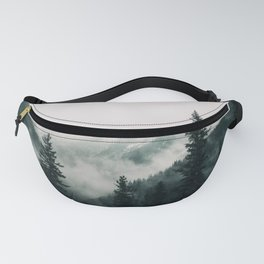 Over the Mountains and trough the Woods -  Forest Nature Photography Fanny Pack