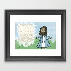 Beatitudes Framed Art Print