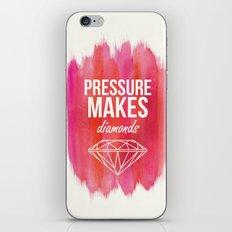 Pressure Makes Diamonds iPhone & iPod Skin