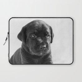 Black labrador puppy Laptop Sleeve