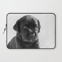 Black labrador puppy Laptop Sleeve