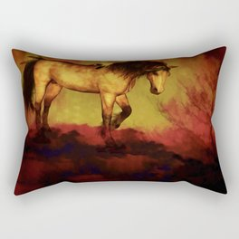HORSE - Choctaw ridge Rectangular Pillow