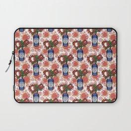 Furphy - An Australian Beer Pattern - Pincushions and Protea Laptop Sleeve