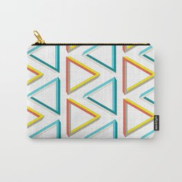 Impossible triangles geeky pattern. Carry-All Pouch