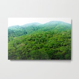 Green Hills of Hakone Metal Print