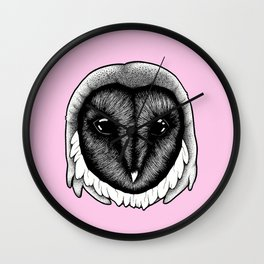Owlish Wall Clock