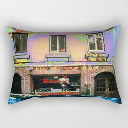 Stonewall, Christopher Street, Greenwich Village, NYC, NY Rectangular Pillow