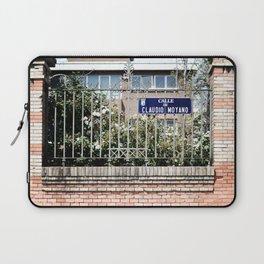 Madrid // Calle de Claudio Moyano Laptop Sleeve