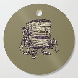 The Mummy Log Cutting Board