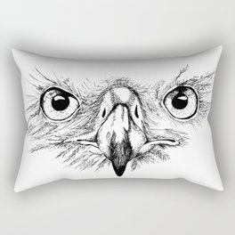Eagle Eyes Rectangular Pillow