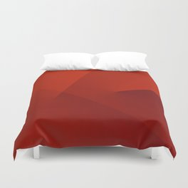 The red line Duvet Cover