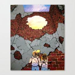 Beyond Walls Canvas Print