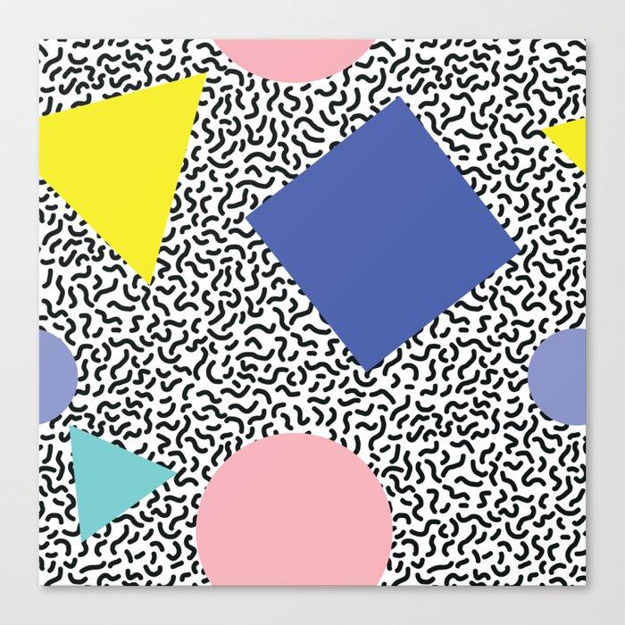 Memphis Pattern 1 Canvas Print