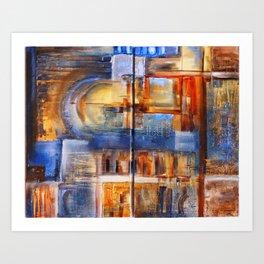 Elemental 1 Art Print