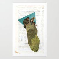 stitch Art Prints featuring Stitch by WILL RHODES