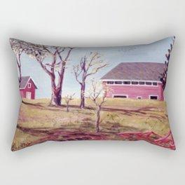 Evangeline  Trail, Nova Scotia             By Kay Lipton Rectangular Pillow