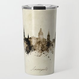 Annapolis Maryland Skyline Travel Mug
