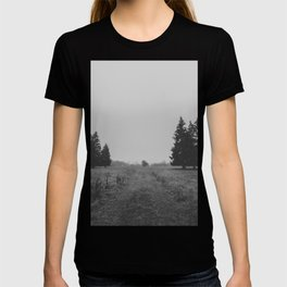 Siblings - black and white landscape photography T-shirt
