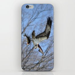 Osprey and Prey - Wildlife Photography iPhone Skin