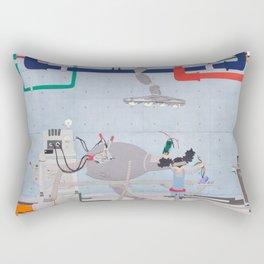 In the Factory Rectangular Pillow