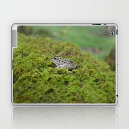 Little frog in Japan Laptop & iPad Skin