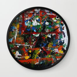Painted sheet Wall Clock