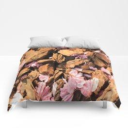 Fallen Blossoms Comforters