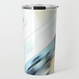 Life is a blight  in an office closed tight. Travel Mug