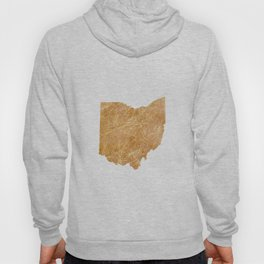 Gold Ohio Hoody