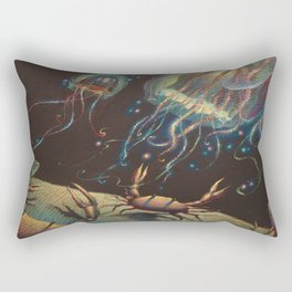 """Light Show"" Rectangular Pillow"