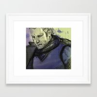 danny ivan Framed Art Prints featuring Danny by queenchester
