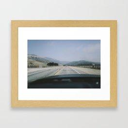 Highway 1, (7) Framed Art Print